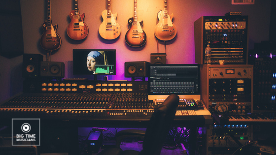 How to build a music studio at Home